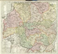 Le Diocèse de Limoges divisé en ses dix huict Archiprêtré et les Gouvernemens de la Marche et du Limosin ...
