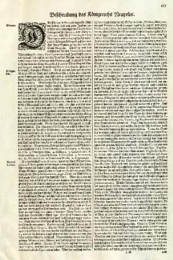Beschreibung des Königreichs Neapolis.