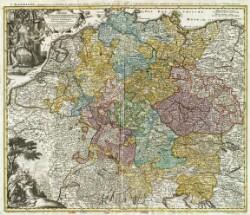 Imperii Romano-Germanici in suos Status et Circulos divisi Tabula Generalis, in usus luventutis erudiendæ accommodata