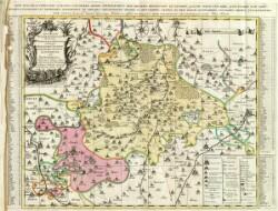 Accurate geographische delineation derer zum Fürstenthum Altenburg gehörigen Herzoglichen Sachsen Gothaischen Æmmter Altenburg und Ronneburg ...