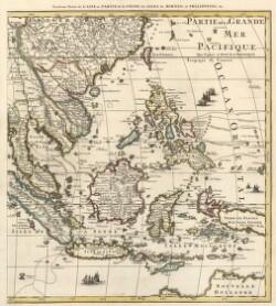 Troisieme Partie de L'Asie ou Partie de la Chine, les Isles de Borneo et Philippines etc.