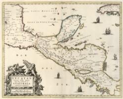 Yucatan conventus Iuridici Hispaniæ Novæ Pars Occidentalis et Guatimala conventus ivridicus