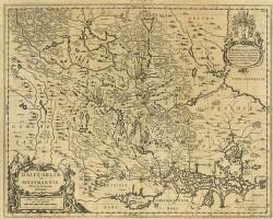 Dalecarliæ et Westmanniæ, Nova et Accurata descriptio