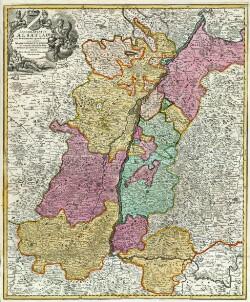 Landgraviatus Alsatiae tam superioris quam inferi[oris] cum utruque Marchionatu Badensi ut et tractu Herciniæ Silvæ ac ditione quatour Urbium silvestr.