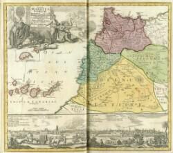 Statuum Maroccanorum, Regnorum nempe Fessani, Maroccani, Tafiletani et Segelomessani ... Typus generalis novus ...
