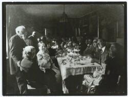 Anna Ancher på 75 årsdagen