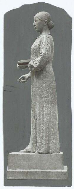 Astrid Noacks Anna Ancher-Statue, der i Dag afsløres i Skagen