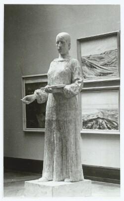 Den originale Model i fuld Størrelse til Astrid Noacks Monument for Anna Ancher