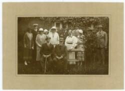 Den kongelige familie på besøg hos Anchers