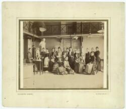 Kvindeakademiet ca. 1885