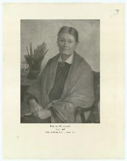 Bertha Wegmann, 1847-1926, Malet af Bertha Dorph 1920/21