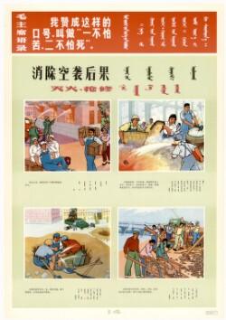 人民方常识挂图Plakater til ophæng med informationer on nationens luftforsvar