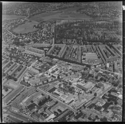 thumbnail: Skråfoto fra 1956 taget 38 meter fra Birkedommervej 43