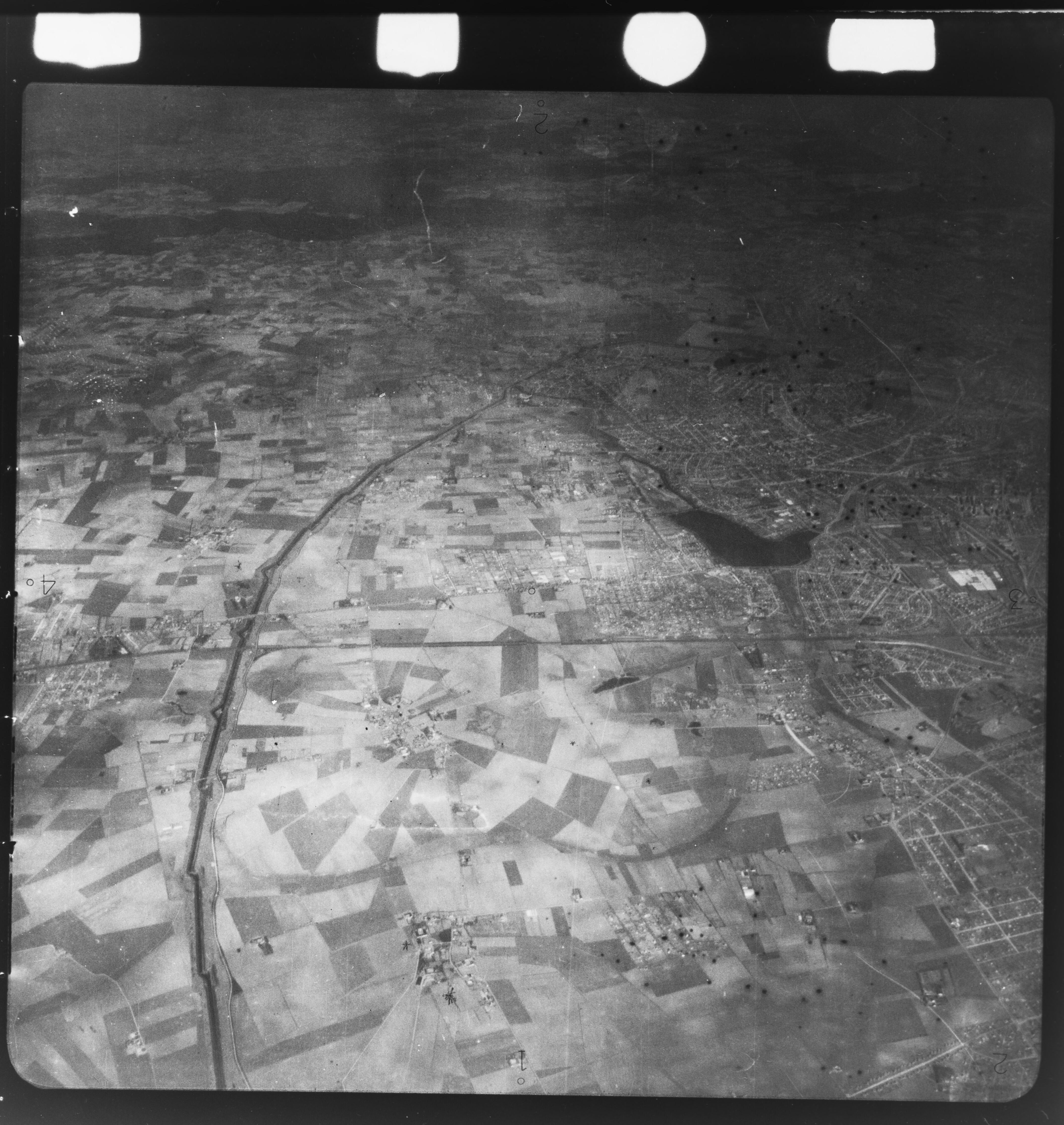 Skråfoto fra 1922-1939 taget 117 meter fra Hf. Dahlia 39