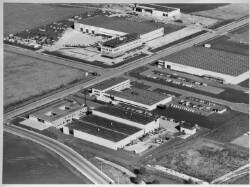 thumbnail: Skråfoto fra 1928-1992 taget 74 meter fra Jydekrogen 40