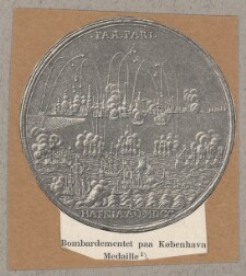 808dcc1a4b8 Bombardementet paa København Medalje