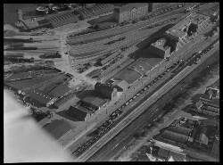 thumbnail: Skråfoto fra 1928-1933 taget 275 meter fra Willemoesgade 68, 1.