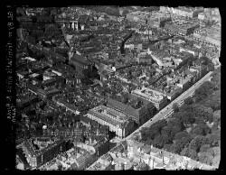 thumbnail: Skråfoto fra 1932-1967 taget 43 meter fra Suhmsgade 3C