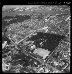 thumbnail: Skråfoto fra 1956 taget 70 meter fra Gothersgade 109, 2. tv