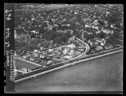 thumbnail: Skråfoto fra 1936 taget 45 meter fra Strandpromenaden 49, st.