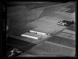 thumbnail: Skråfoto fra 1936 taget 192 meter fra Filmbyen 2B