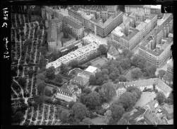 thumbnail: Skråfoto fra 1937 taget 144 meter fra Classensgade 35B