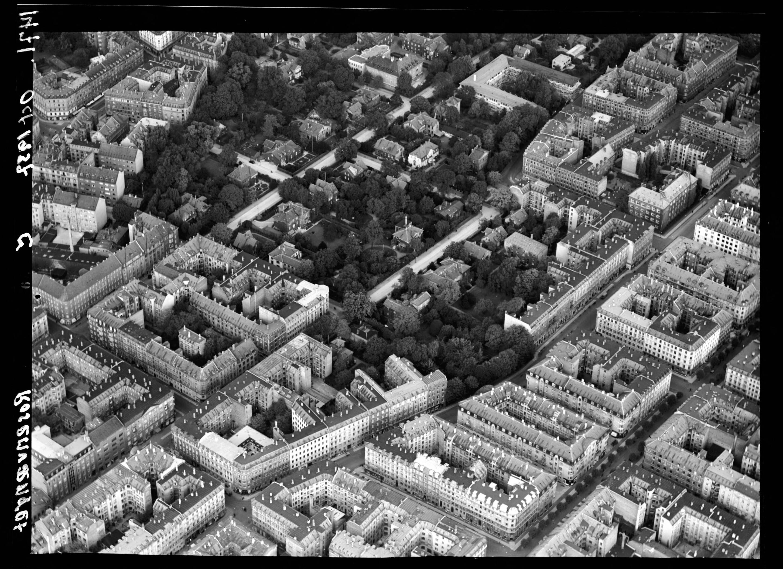 Skråfoto fra 1937 taget 7 meter fra Saabyesvej 8, kl. 4
