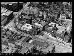 thumbnail: Skråfoto fra 1938 taget 44 meter fra Kongens Nytorv 9