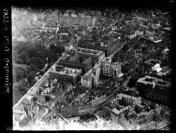 thumbnail: Skråfoto fra 1949 taget 129 meter fra Gothersgade 93, 3. th