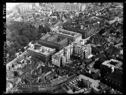 thumbnail: Skråfoto fra 1949 taget 58 meter fra Pilestræde 58, 2.