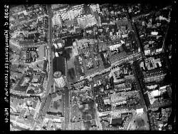 thumbnail: Skråfoto fra 1950 taget 54 meter fra Klareboderne 3, 2.