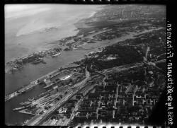 thumbnail: Skråfoto fra 1950 taget 138 meter fra Marmorvej 45, st. tv