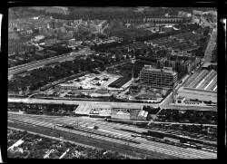 thumbnail: Skråfoto fra 1952 taget 39 meter fra Vermundsgade 38K, kl.