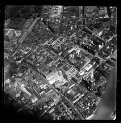 thumbnail: Skråfoto fra 1966 taget 42 meter fra Store Kirkestræde 3, st.